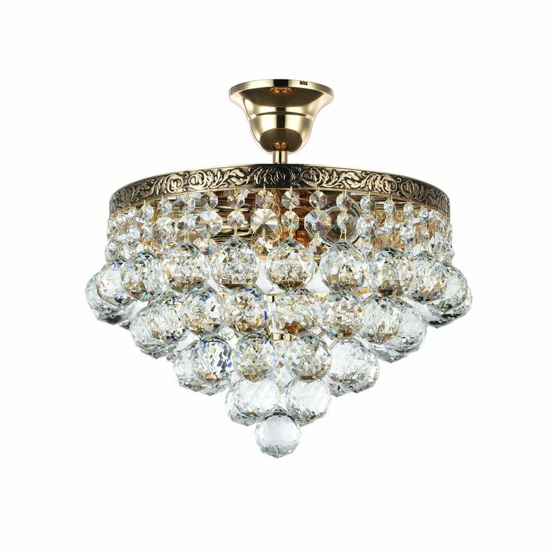 sale chandelier large at mount from flush pamono doria for