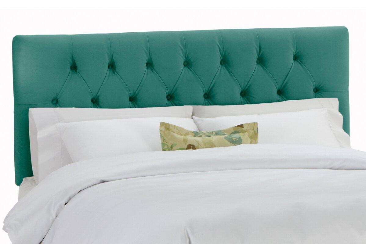 Wayfair Tufted Headboard Tufted Headboard In Bedroom: Skyline Furniture Tufted Regal Upholstered Panel Headboard