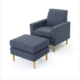 Wachtel Mid Century Club Chair And Ottoman