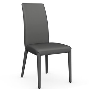 Anais Genuine Leather Upholstered Dining Chair by Calligaris
