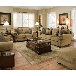 Chenille Stationary Sofa Living Room Sets You\'ll Love in ...