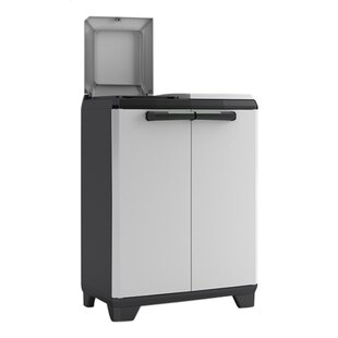 Split 20 Gallon Touch Top Multi Compartments Trash And Recycling Bin