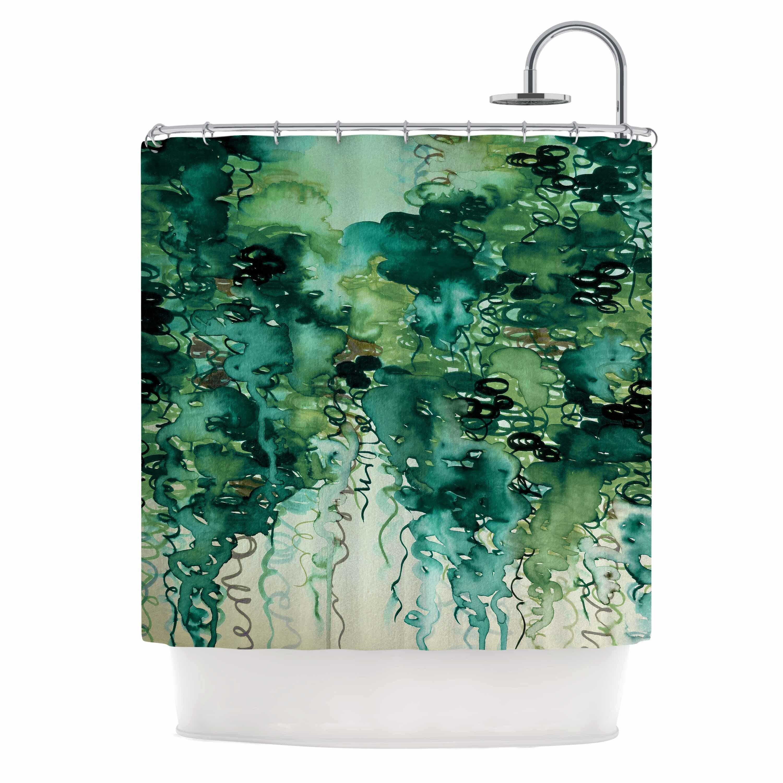 East Urban Home Ebi Emporium Beauty In The Rain Shower Curtain