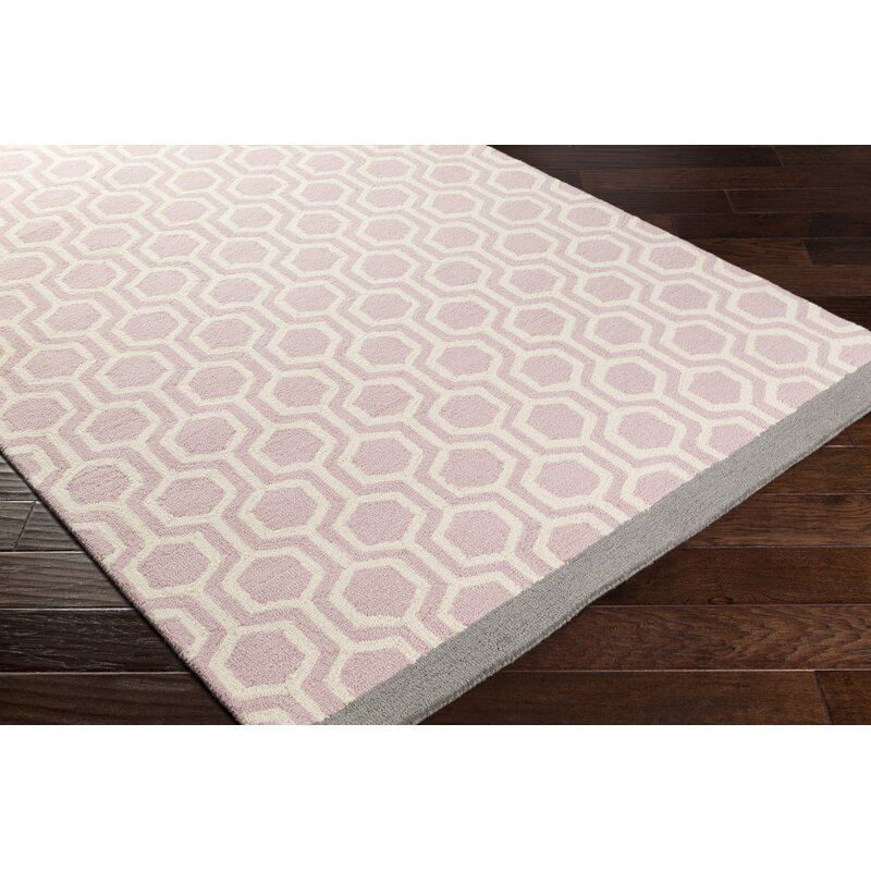 Blitar Hand Crafted Light Pinkgray Area Rug Reviews Birch Lane