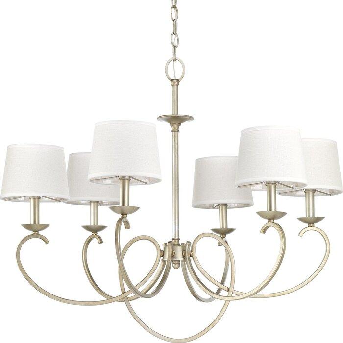 Alcott hill savour six light chandelier reviews wayfair savour six light chandelier mozeypictures Gallery