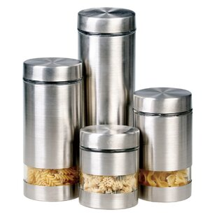 contemporary kitchen canisters modern kitchen canisters allmodern 11119