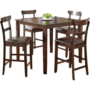 Cotswold 5 Piece Counter Height Dining Se..