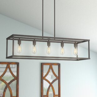 Kitchen table hanging light wayfair cassie 5 light kitchen island pendant workwithnaturefo