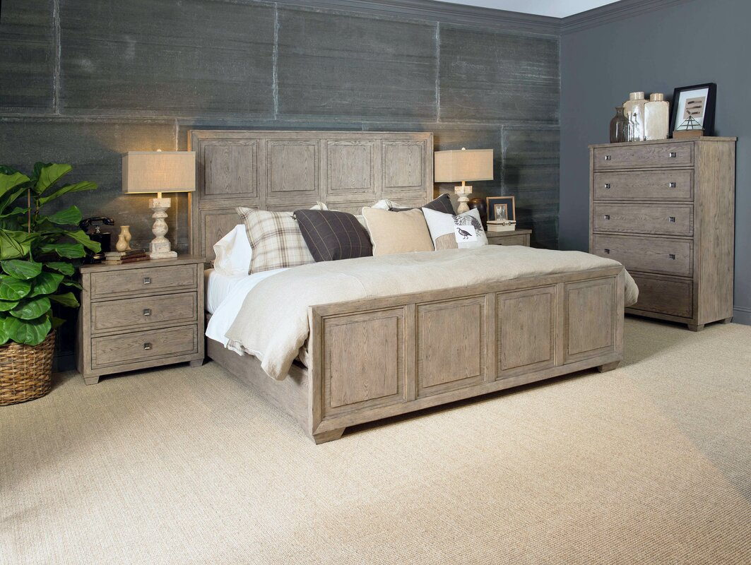 Amina 4 Piece Wood Bedroom Set