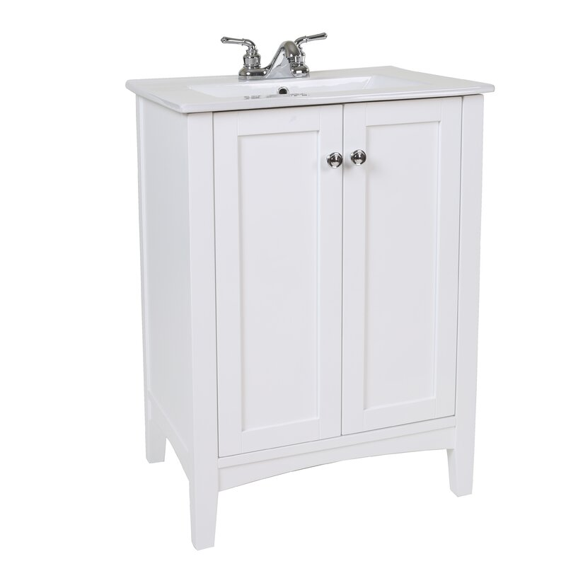 Jeremiah 24 Single Bathroom Vanity Set