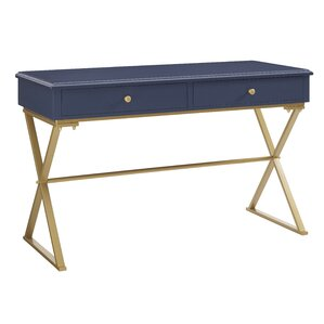Gold Writing Desks Youll Love Wayfair