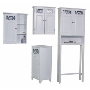 Coddington 4 Piece Bathroom Storage Set  sc 1 st  Wayfair & Small Bathroom Storage Cabinet | Wayfair