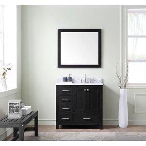 Bathroom Vanity Experts left side sink vanity | wayfair