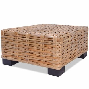 Shanita Natural Rattan Coffee Table