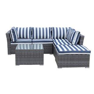 Puerta Outdoor Wicker Sofa Set Wayfair Ca