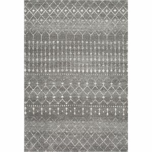 Superb Clair Dark Gray Area Rug