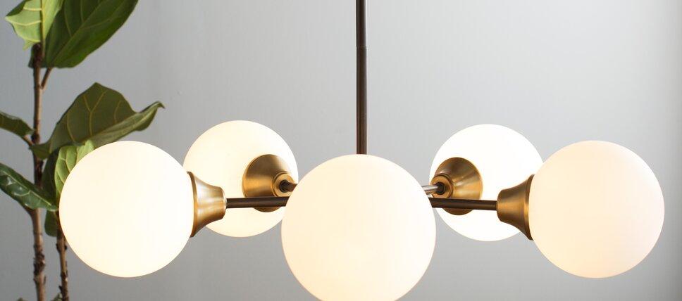 Modern contemporary ceiling lights allmodern ceiling lights aloadofball Choice Image