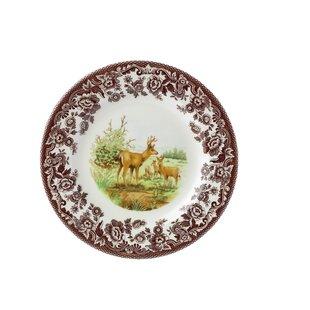 Woodland 8  Mule Deer Salad Plate  sc 1 st  Wayfair & Deer Salad Plates | Wayfair