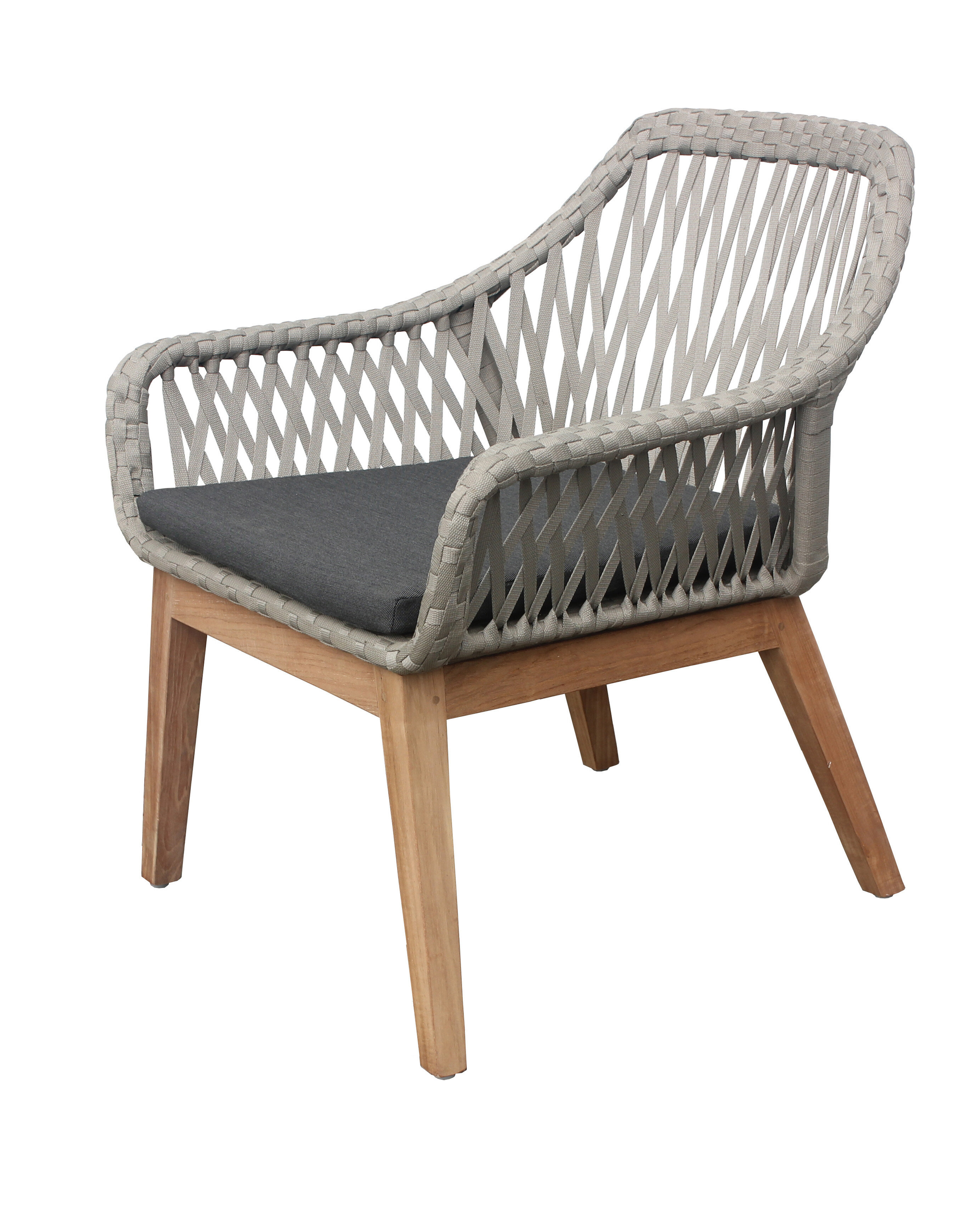 bungalow rose alena teak patio chair with cushion wayfair rh wayfair com teak patio chairs discount teak patio chair cushions