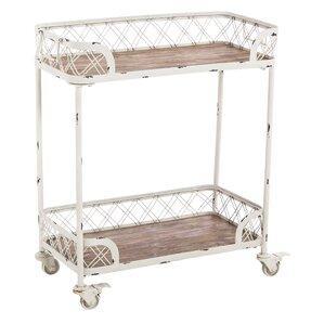 Rohan 2 Tier Bar Cart (Set of 2) by Ophelia & Co.