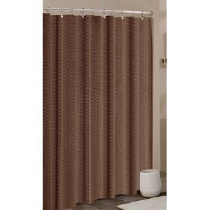 Smyrna Waffle Shower Curtain