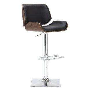 Killam Adjustable Height Swivel Bar Stool