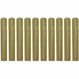 Liberal 0.1m x 1.2m Border Fence (Set of 10) by Lynton Garden