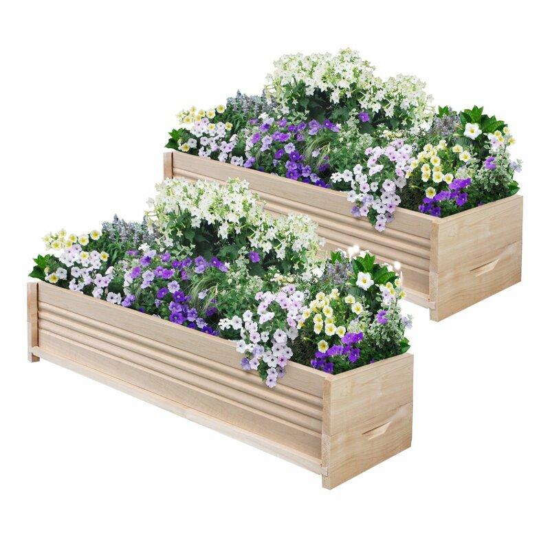 Planter Fence: Greenes Fence Cedar Planter Box & Reviews