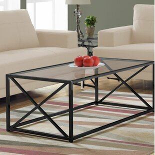 Black Glass Coffee Tables You Ll Love In 2019 Wayfair