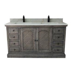 Tarra Rustic 2 Sink Bathroom Vanity Set