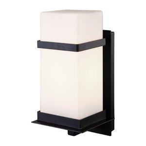 Modern outdoor wall lighting allmodern havana 1 light outdoor sconce mozeypictures Choice Image
