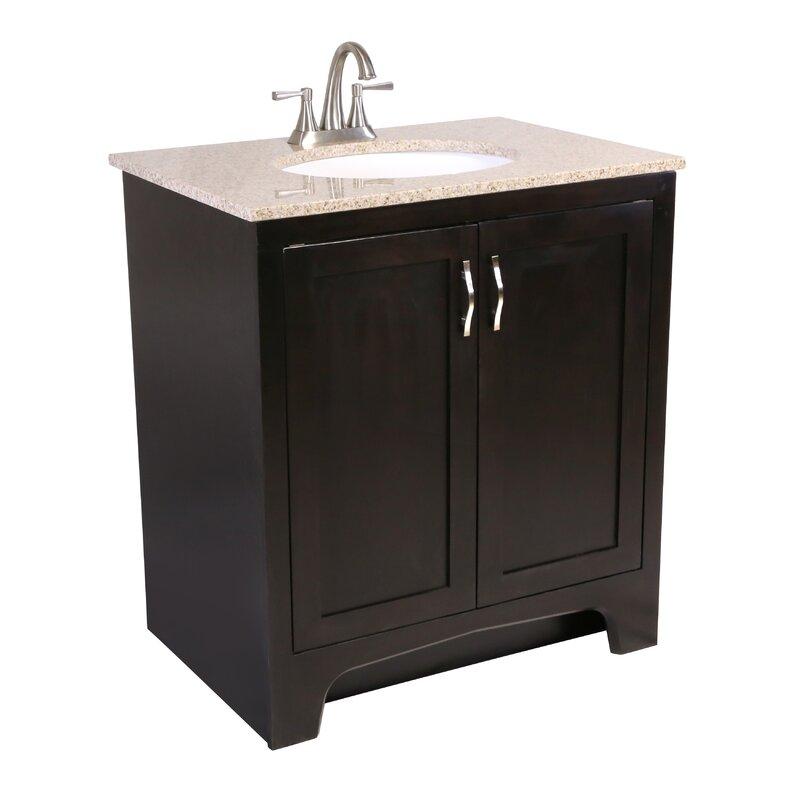 Andover Mills Steubenville 2 Door 31 Single Bathroom Vanity Wayfair