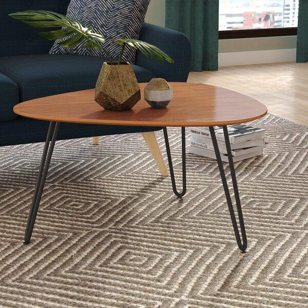 hairpin leg coffee table Mercury Row Labarge Hairpin Leg Wood Coffee Table & Reviews | Wayfair hairpin leg coffee table
