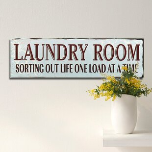 Captivating Laundry Room Wall Decor | Wayfair