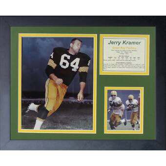 11 x 14-Inch Legends Never Die Ray Nitschke Framed Photo Collage