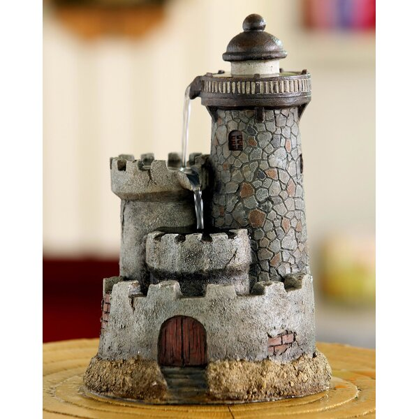 Merveilleux Jeco Inc. Resin/Fiberglass Lighthouse Tabletop Water Fountain | Wayfair
