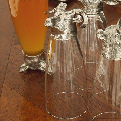 Arte Italica Animale Ram Pilsner Glass