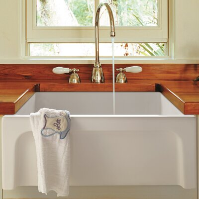 "Bathroom Sink 24 X 18 alfi brand 24"" x 18"" smooth thick wall fireclay single bowl"