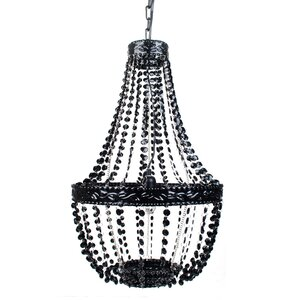 Senoia Beaded 1-Light Mini Pendant