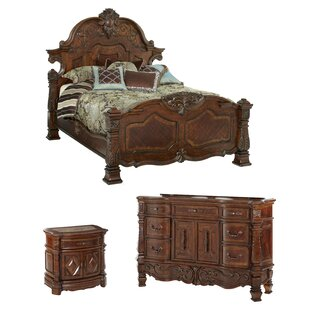Beau Windsor Court Platform Configurable Bedroom Set