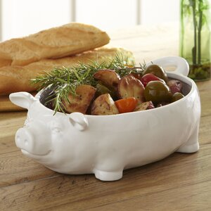 Lucky Pig Ceramic Bowl