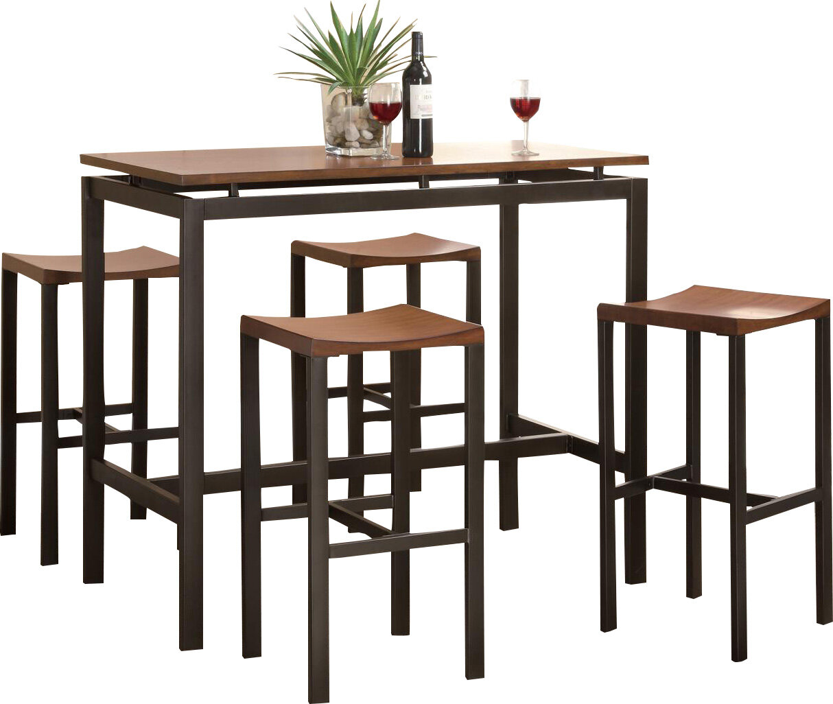 Mcgonigal 5 Piece Pub Table Set Reviews Allmodern