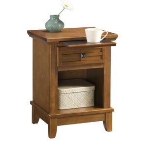 Night Table oak nightstands you'll love | wayfair