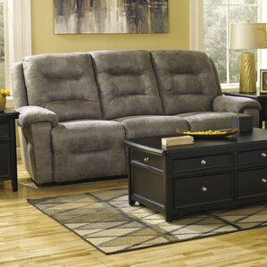 Tressider Reclining Sofa by Loon Peak