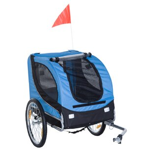 Bicycle Dog Carrier by PawHut