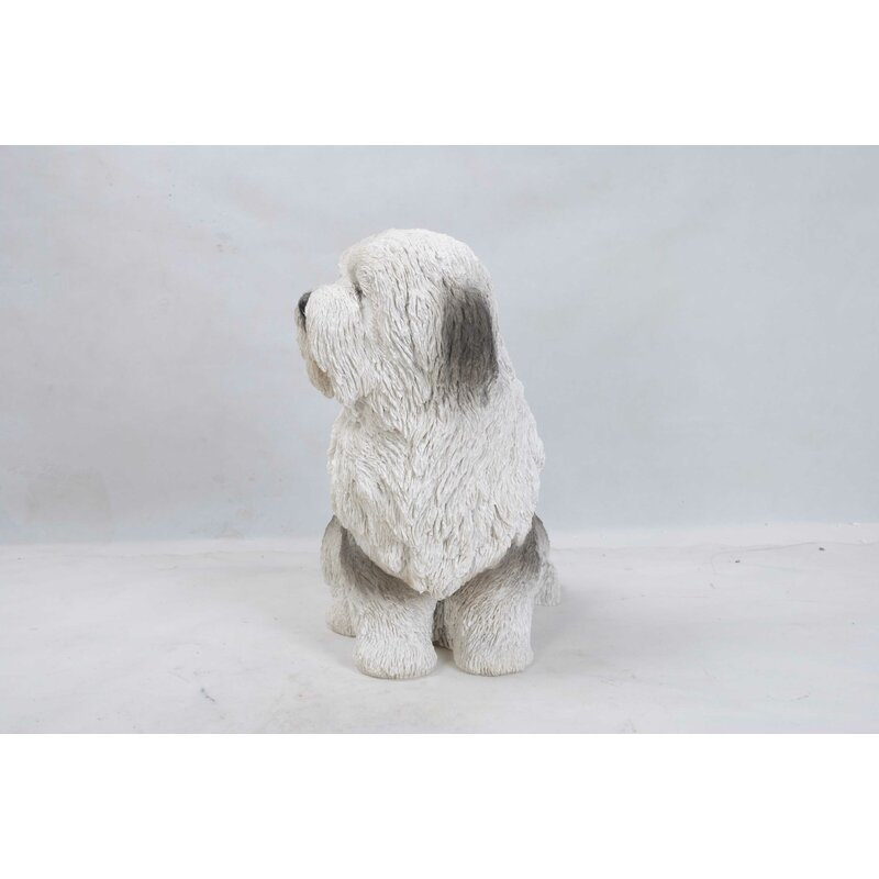 Old English Sheepdog Statue