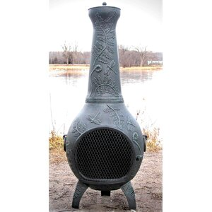 Aluminum Wood Burning Chiminea