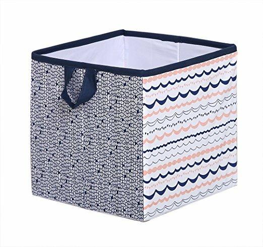 Gentil Olivia Tribal Fabric Storage Cube And Bin