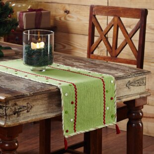 Exceptionnel Whimsical Christmas Table Runner