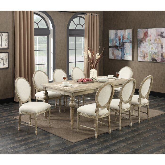 Montreal Butterfly Leaf Dining Table
